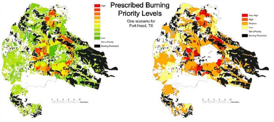 A Gis Model To Prioritize Prescribed Burning