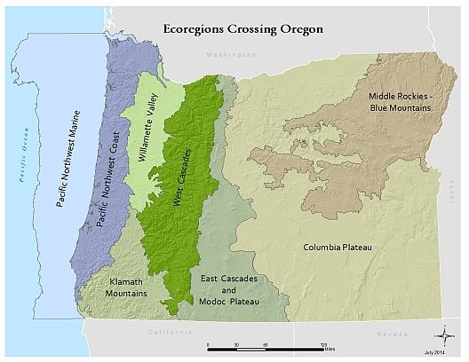 Ecoregional Assessments in Oregon