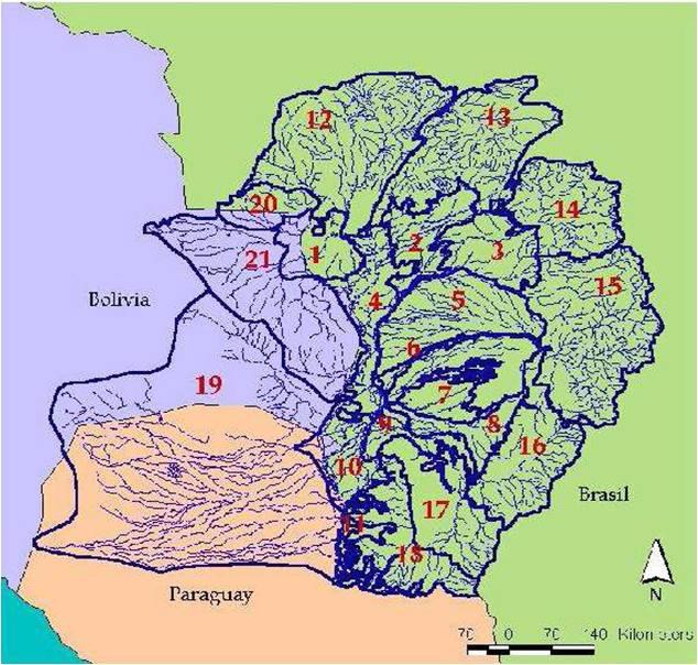 paraguay river basin - Tularosa Basin 2017